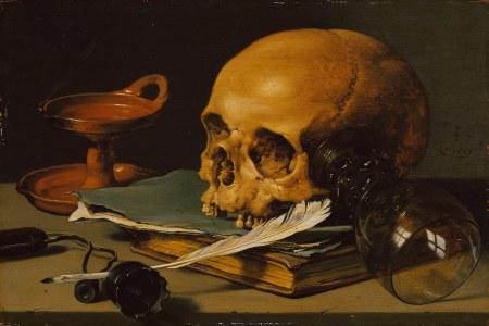 skull quill